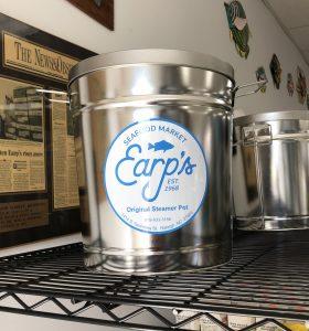 steamer pot from Earp's